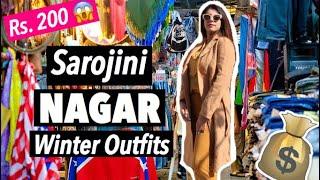 Sarojini Nagar Cheap Stylish Winter Outfits Haul - Cheap Shopping In Delhi Markets