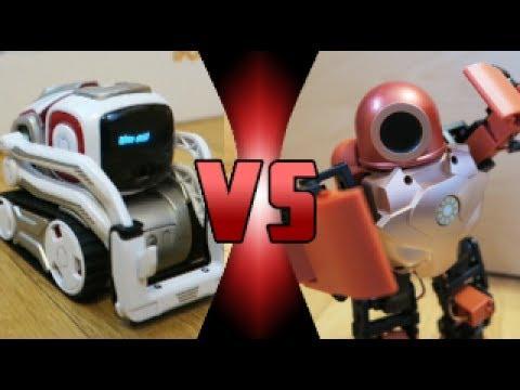 Cozmo VS RoboHero (ROBOT DEATH BATTLE!)
