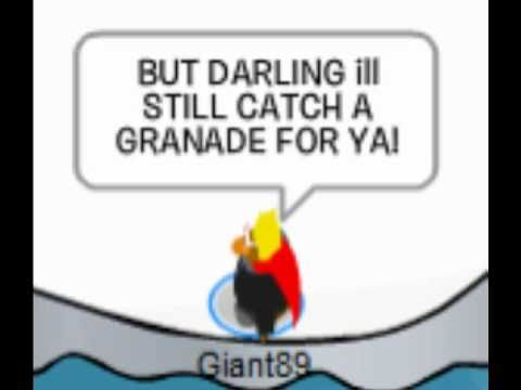 Bruno Mars - Grenade - Club Penguin