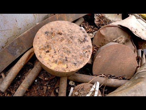 Деловой металлолом - набрал гигантских блинов 100 килограмм