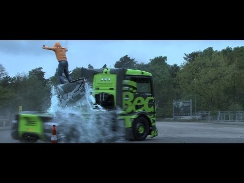 Becx-tds Racing: Semi Truck Drift Gymkhana 1 video
