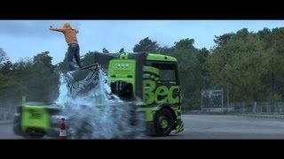 Becx-TDS Racing: Semi Truck Drift Gymkhana 1