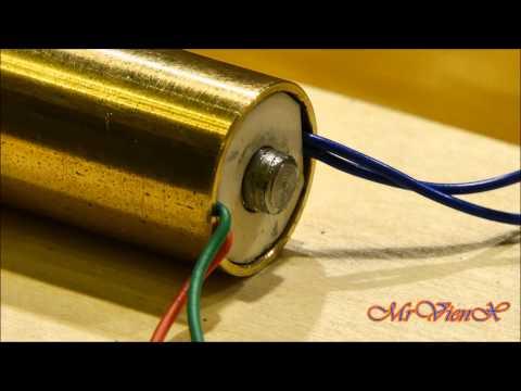 Электромагнитная катушка своими руками