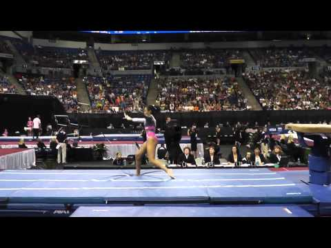 Brianna Brown - Vault - 2012 Visa Championships - Sr Women - Day 1
