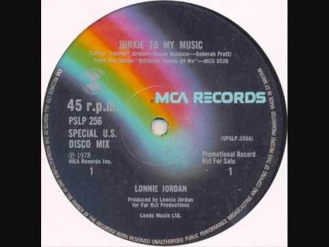 Lonnie Jordan - Junkie To My Music - 1978