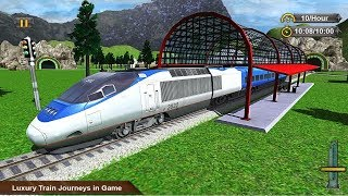 Euro Train Driving Simulator 2018 Android Gameplay