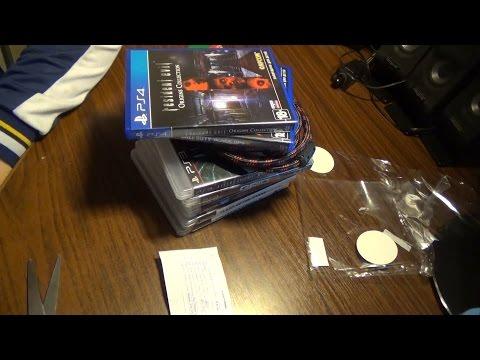 Распаковка посылки с Б/У играми для PS3 + пару игр на PS4.