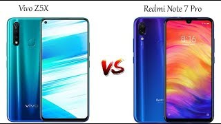 Redmi note 7 pro vs Vivo z5x