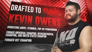 Kevin Owens selected by Raw and more WWE Draft Third-round picks: SmackDown, Oct. 11, 2019