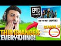 Epic Just Made Their *BIGGEST* Announcement EVER! (Fortnite Will NEVER Be The Same!)