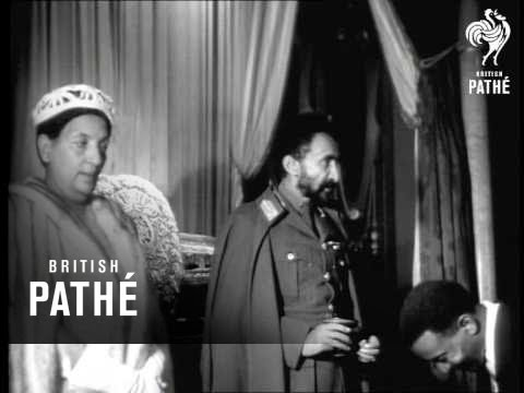 Selected Originals - Haile Selassie Accepts Eritrea Aka Eritrea & Ethiopia Pact (1952)