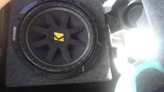 10 inch kicker only 600 watt