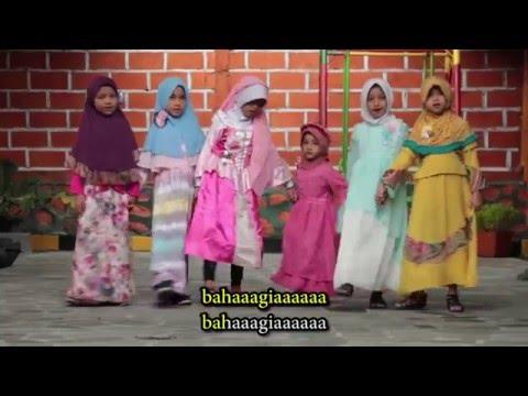 Zerlina Qonza - Bahagianya Tuh Disini (Official Video Music)