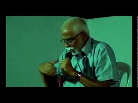 Vk Sasidharan (vks) Reciting Gitanjali By Rabindranath Tagore At Bharat Bhavan video