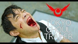 TOKYO GHOUL LIVE ACTION - JASON VS KANEKI TRAILER (RE:ANIME)
