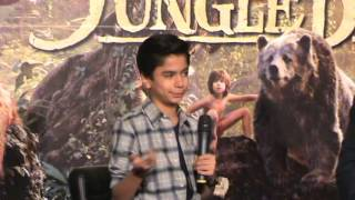 The Jungle Book 2016 Hindi Trailer Launch | Neel Sethi As Mowgli | Filmy Sansaar