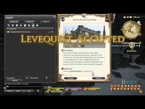 Final Fantasy XIV ARR Goldsmithing Leveling Guide - Repeatable Leve ...