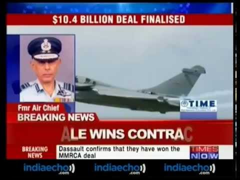 French Dassault Aviation wins contract India for Rafale multirole fighter aircraft Indian Air Force