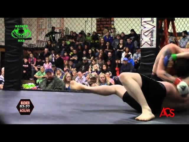 ACSLIVE.TV Presents Madmen MMA Night Of Champions Donald Brandell vs Dustin King 205