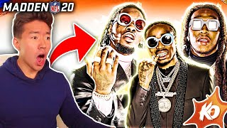 MIGOS IN SUPERSTAR KO! THE UNSTOPPABLE TRIO! Madden 20