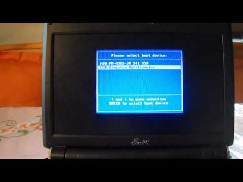 How To: Flash Netbook bios with a usb drive AFUDOS (Asus) [HD]