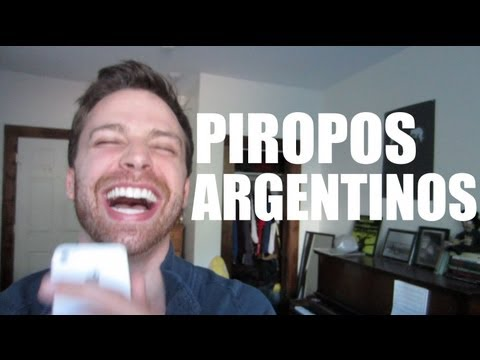 &quot;Piropos&quot; Argentinos Leido Por Un Yanqui