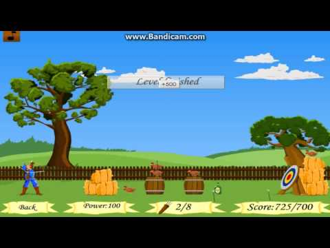 Blue Archer [Flash Game]