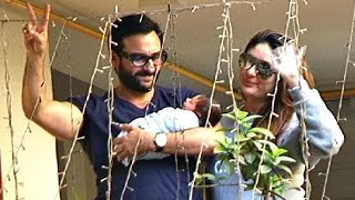 Kareena Kapoor And Saif Ali Khan Bring Taimur Ali Khan Home