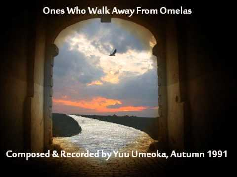 the ones who walk away from Rsula k laguin's the ones who walk away from omelas is similar to lois lowry's the giver both are set in an ideal world there are no problems there is no war, no hate, no murders, no corruption both omelas and the utopian society in the giver do not know.