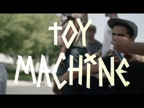 Blake Carpenter is PRO for Toy Machine!