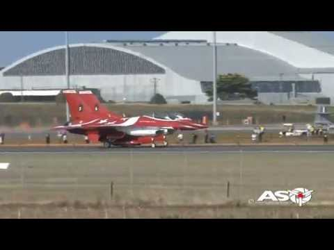 Republic of Singapore Air Force 'Black Knights' Demonstration Team Avalon 2015