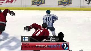 Én 2014-es Téli Olimpián Döntője Finnország-Kanada I Harmad