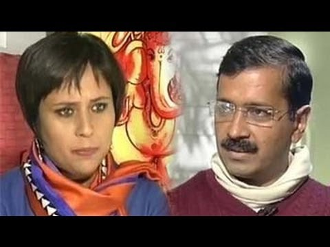 Lokpal or Lok Sabha? The Arvind Kejriwal interview klip izle
