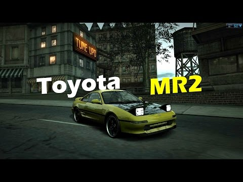 Nfs World: Teste do Toyota MR2