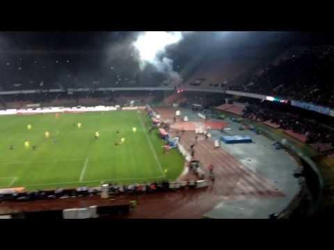Napoli-Roma 3-0 Esultanza Higuain, Cori Maradona,3ºGoal Jorginho