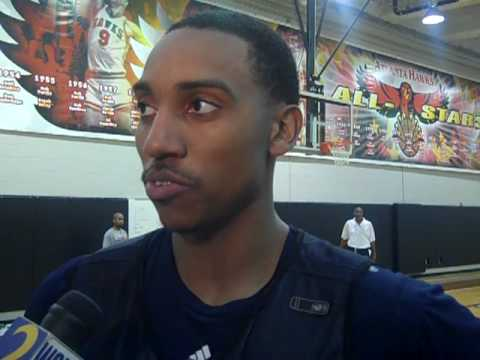 Jeff Teague Atlanta Hawks guard interview with Nubyjas Wilborn
