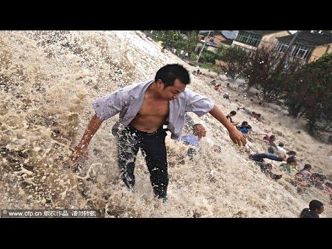 Hurricane Typhoon Mario & Fung Wong Landfall & Hits Philippines - Manila & Taiwan Storms 2014!!!