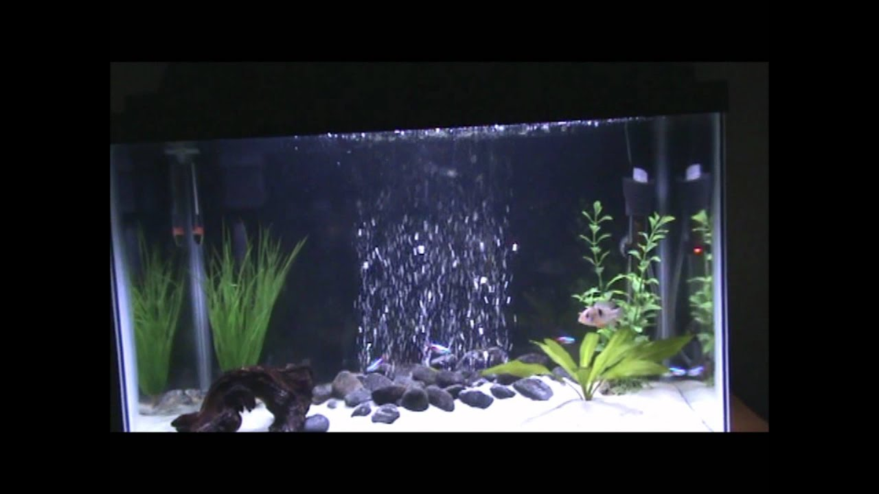 How to convert from gravel to sand youtube for Fish tank rock cleaner