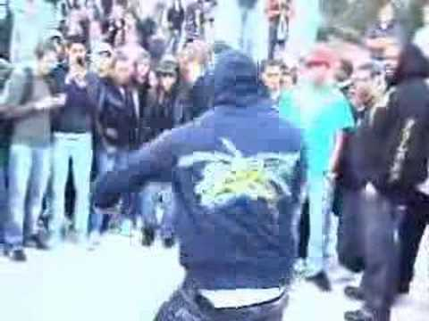 Chris Brown Loses A Dance Battle In Paris