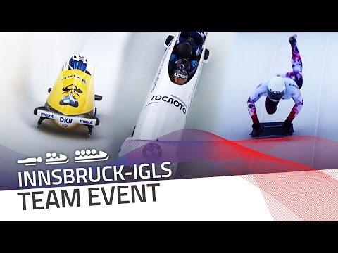 Innsbruck-Igls   BMW IBSF World Championships 2016 - Team Event   IBSF Official