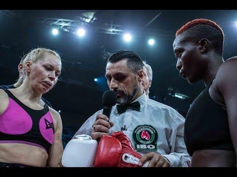 Светлана Кулакова - Джуди Вагути  Полный бой  Мир бокса