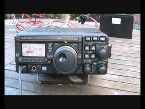 New Yaesu FT897D From Box To Setup