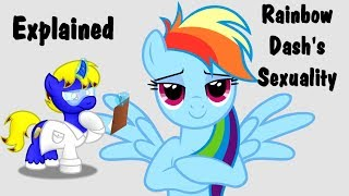 Cutie Mark Laboratories - IS RAINBOW DASH A LESBIAN? Explained - Rainbow Dash