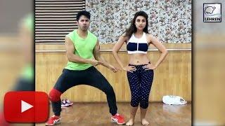Varun Dhawan & Parineeti Chopra's Dance Video | Jaaneman Aah | LehrenTV