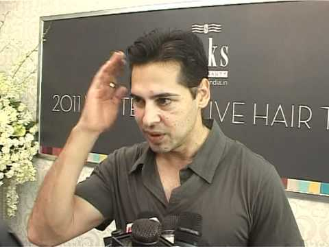 Bollywood World - Dino Morea Promotes SAKS beauty Hair Salon...