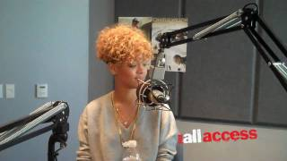 RIHANNA TALKS ABOUT HER GRAMMY NOMINATION WITH FOX ALL ACCESS
