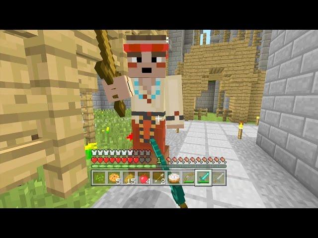 Minecraft Xbox - Lava Archipelango - Hunger Games
