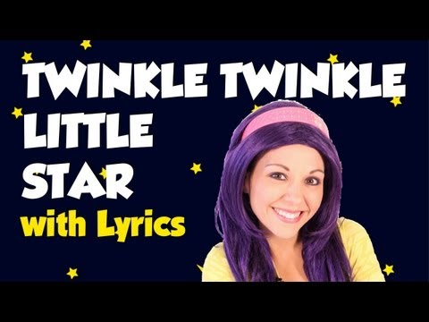 Twinkle Twinkle Little Star With Lyrics video