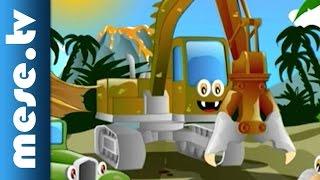 Dinók Traff Parkban (Traff Park rajzfilmek, mese)