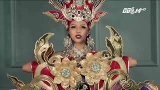 (VTC14)_Trang phục nặng 45kg của Việt Nam đứng đầu tại Hoa hậu Siêu quốc gia 2016